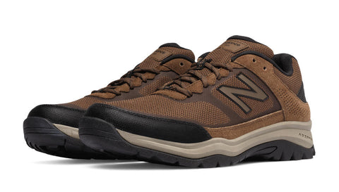 New Balance Men's MW669 Walking Shoe-Brown - Bennett's Clothing - 1