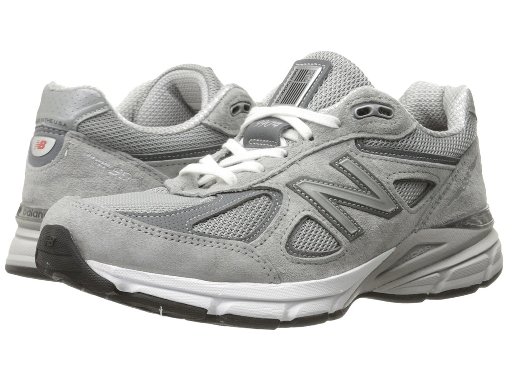 innovative design durable service beautiful style New Balance Womens W990V4 Running Shoe-Grey/Castlerock NEW