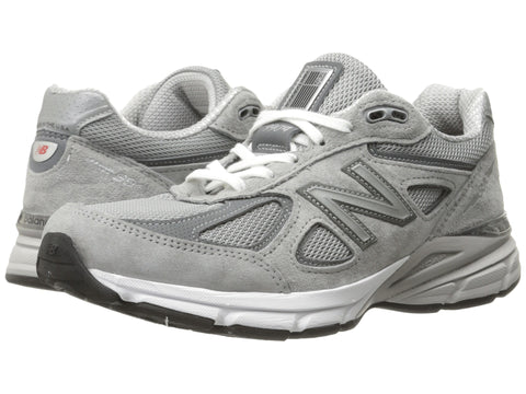 New Balance Womens W990V4 Running Shoe-Grey/Castlerock  NEW