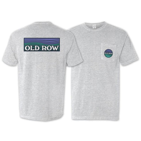 Old Row Waves pocket tee looks spot on when hanging beach side or bar side. Shop Bennett's for the brands you love shipped same day to your front door.