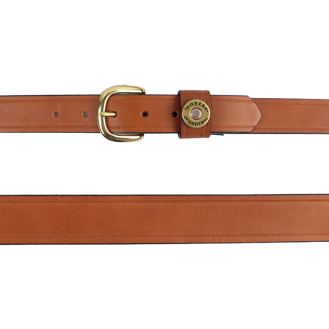 Over Under Single Shotgun Shell Belt is unique and as southern as the gentleman that wear them. Shop Bennett's Clothing for the brands you want with the customer service you deserve.