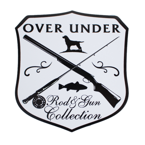 Over Under Rod & Gun Collection sticker is unique and as southern as the gentleman that displays it. Perfect for your Bison cup, cooler, or truck window. Shop Bennett's Clothing for the brands you want with the customer service you deserve.