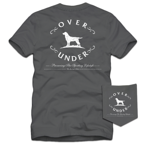 Over Under Original Logo t-shirt is outdoorsy and as southern as the gentleman that wears it. Shop Bennett's Clothing for the brands you want with the customer service you deserve.