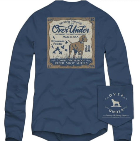 Over Under Upland Classic t-shirt is perfect for any hunter. Shop Bennett's Clothing for a large selection of menswear from the brands you love.