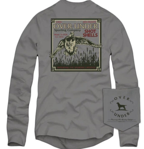 Over Under Wetland Classic t-shirt is perfect for any waterfowl hunter. Shop Bennett's Clothing for a large selection of menswear from the brands you love.