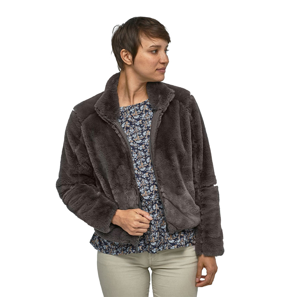 Patagonia Lunar Frost fur jacket for women keeps you warm and looking chic when the cold sets in. Shop Bennetts Clothing for a large selection of womens outerwear and boots with same day shipping