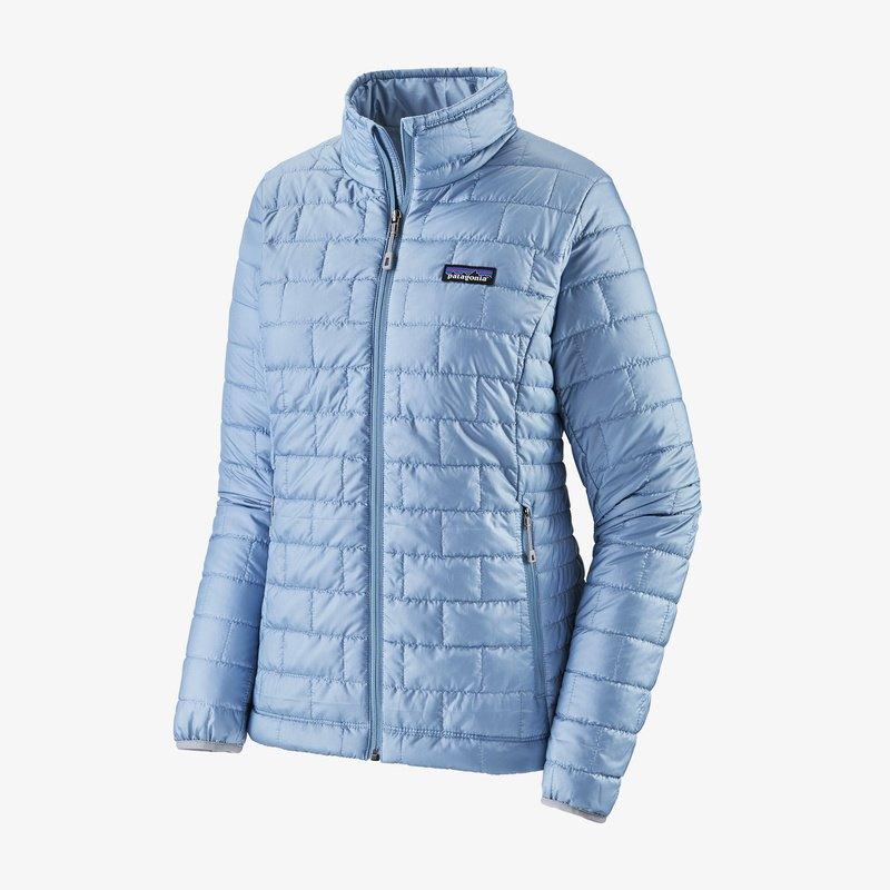 Patagonia Nano Puff Jacket for women is lightweight, warm and packable. Shop Bennetts Clothing for a large selection of womens outerwear and boots with same day shipping