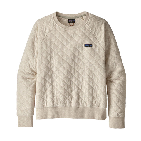 Patagonia Organic Cotton Quilt Crew Sweatshirt for Women. Shop Bennett's Clothing for the best in womens outdoor wear with same day shipping