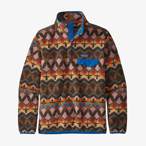 Patagonia Lightweight Synch Snap-T fleece pullover will keep you cozy and looking great while on the go this season. Shop Bennett's for a large selection of outdoor wear from the top name brands, shipped same day to your front door.