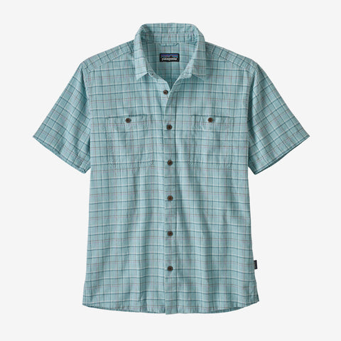 Patagonia Back Step Shirt is cool  with khakis for the office or shorts for a casual evening out. Shop Bennetts Clothing for a large selection of name brand outdoor clothing