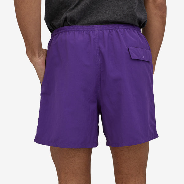 "Patagonia Men's Baggies 5"" Short-Purple"