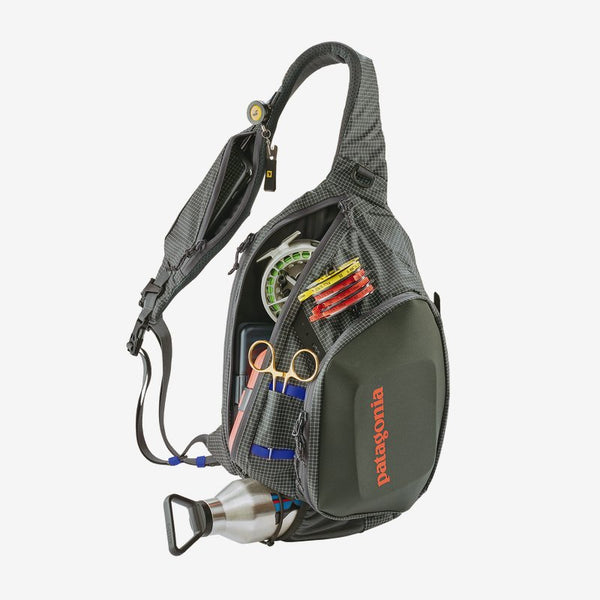 Patagonia Stealth Atom Fishing Sling Bag-Forge Grey