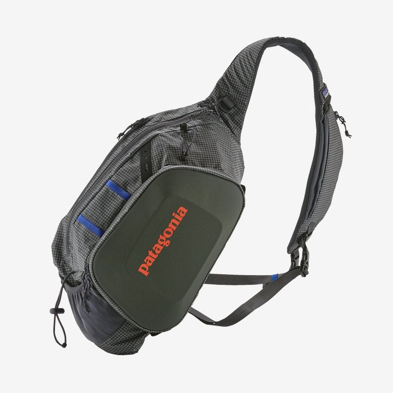 Patagonia Stealth Atom fishing pack keeps your tackle and gear organised when you're on the water. Shop Bennetts Clothing for a large selection of name brand outdoor gear.