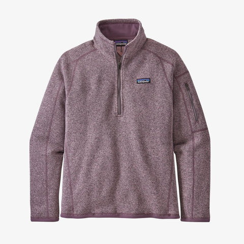 Patagonia Better Sweater for women will keep you toasty on the coldest days. Shop Bennetts Clothing for a large selection of name brand outdoor clothing shipped same day to your front door.
