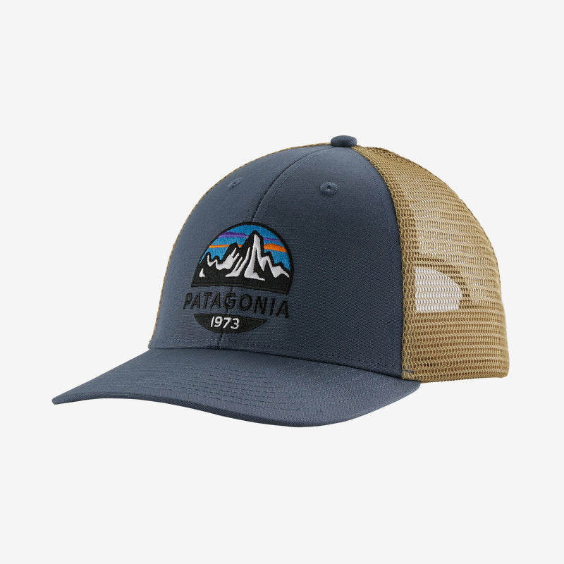 Patagonia Fitz Roy Lopro Trucker hats are the latest in cool hats. Shop Bennetts Clothing for a large selection of name brand outdoor clothing