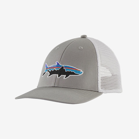 Patagonia Fitz Roy Tarpon Trucker hats are the latest in cool hats. Shop Bennetts Clothing for a large selection of name brand outdoor clothing