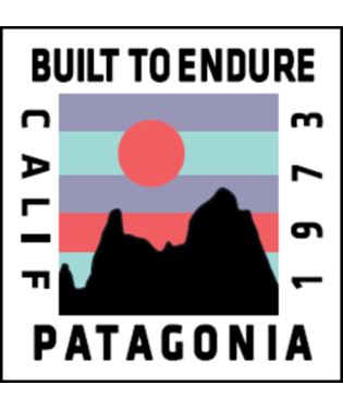 Patagonia Ridge Rise Sticker