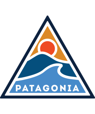 Patagonia Rolling Thur Sticker