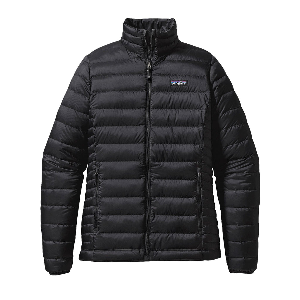 Patagonia Womens Down Sweater Jacket-Black