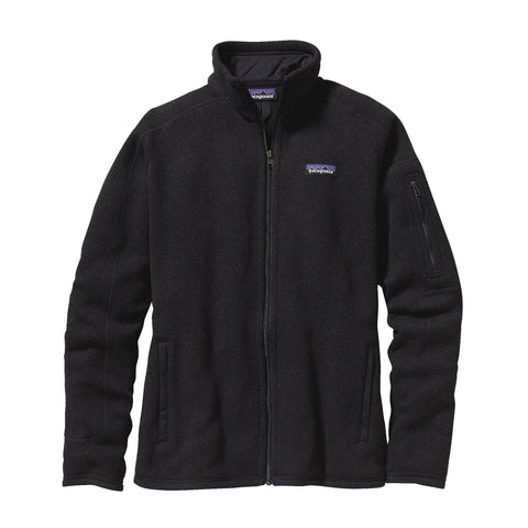 Patagonia Womens Better Sweater Jacket-Black