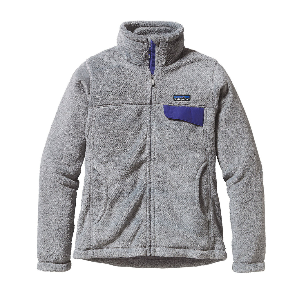 Patagonia Womens Full-Zip Re-Tool Jacket-Tailored Grey - Bennett's Clothing