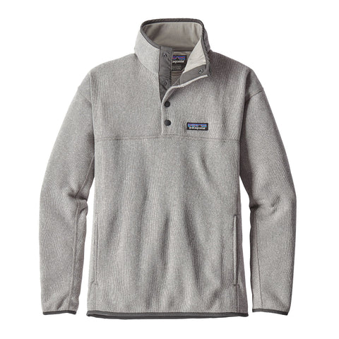 Patagonia Womens Lightweight Better Sweater Marsupial Pullover-Drifter Grey