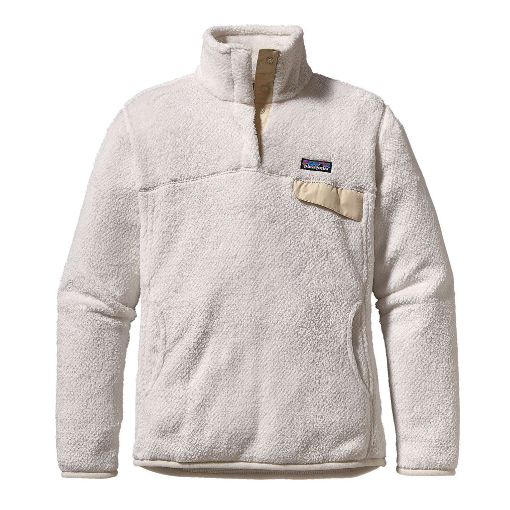 Patagonia Womens Re-Tool Snap-T Fleece Pullover-Raw Linen - Bennett's Clothing