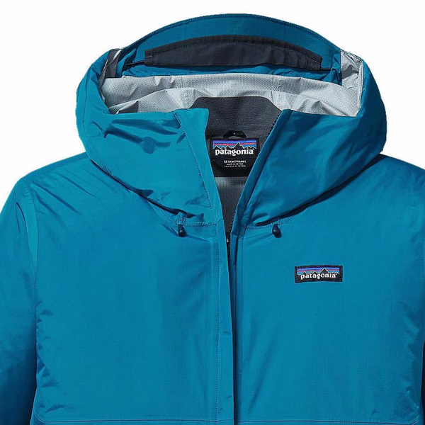 Patagonia Men's Torrentshell Jacket-Underwater Blue - Bennett's Clothing - 3