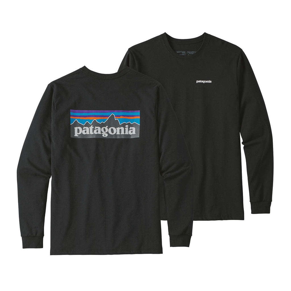 Patagonia P-6 Logo Responsibili Long Sleeve Tee -Shop Bennetts Clothing for a large selection of name brand outdoor clothing