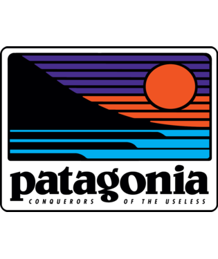 Patagonia Up & Out Sticker
