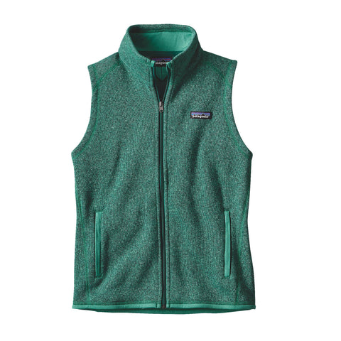 Patagonia Womens Better Sweater Fleece Vest-Impact Green - Bennett's Clothing