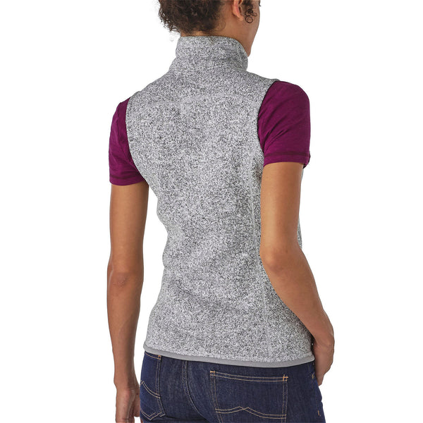 Patagonia Womens Better Sweater Fleece Vest-Birch White - Bennett's Clothing - 2