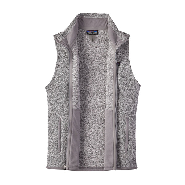 Patagonia Womens Better Sweater Fleece Vest-Birch White - Bennett's Clothing - 4