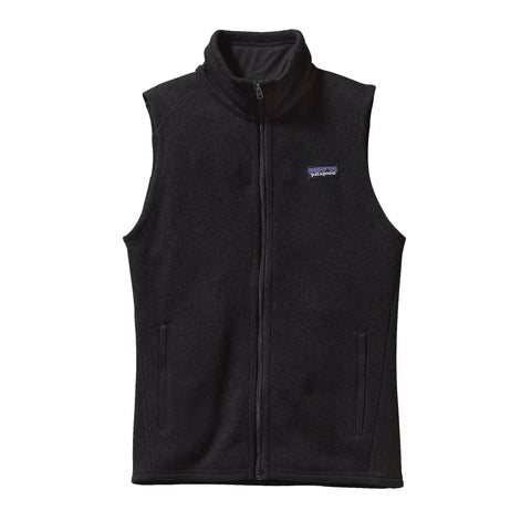 Patagonia Womens Better Sweater Fleece Vest-Black