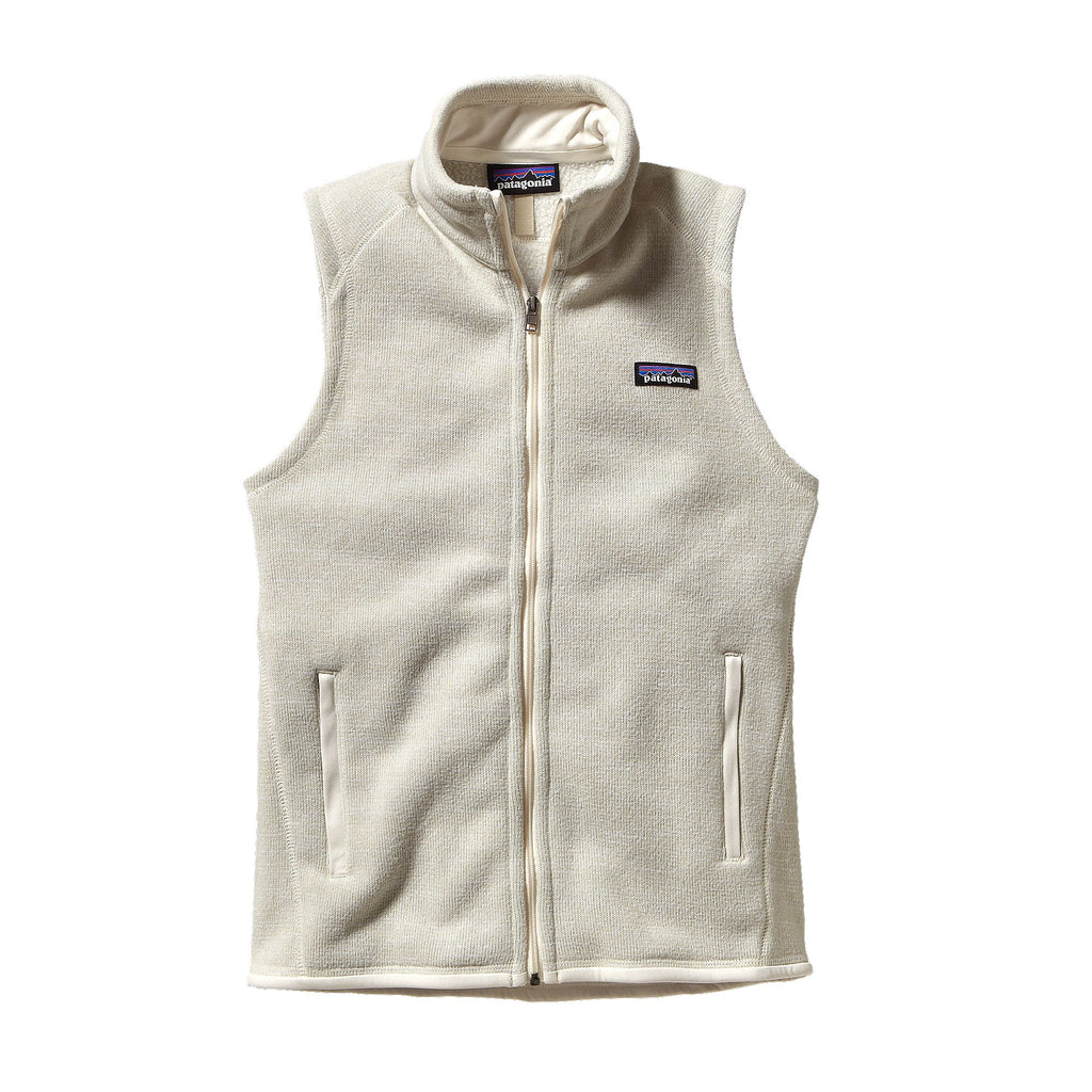 Patagonia Womens Better Sweater Fleece Vest-Raw Linen