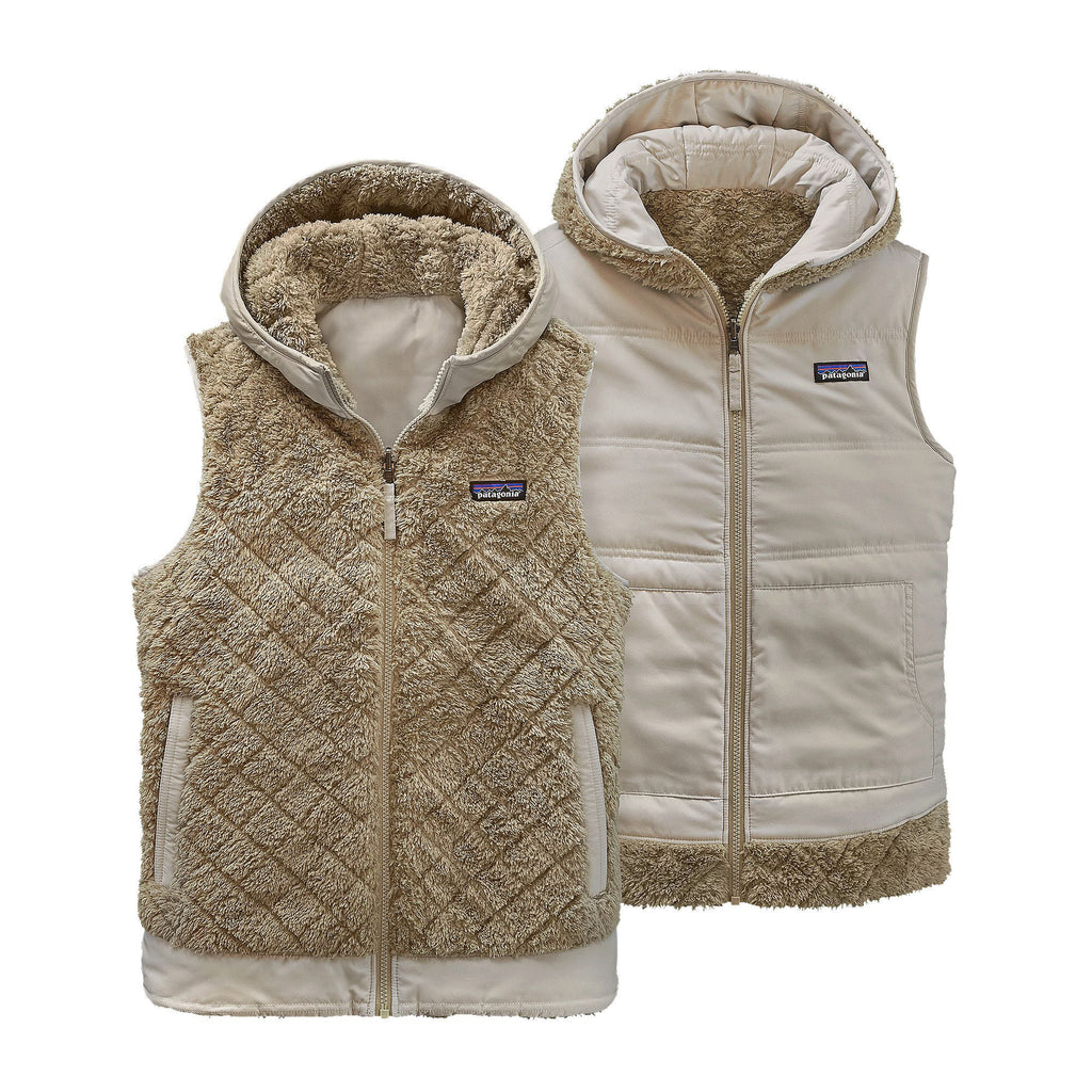 Patagonia Womens Los Gatos Hooded Vest-El Cap Khaki - Bennett's Clothing