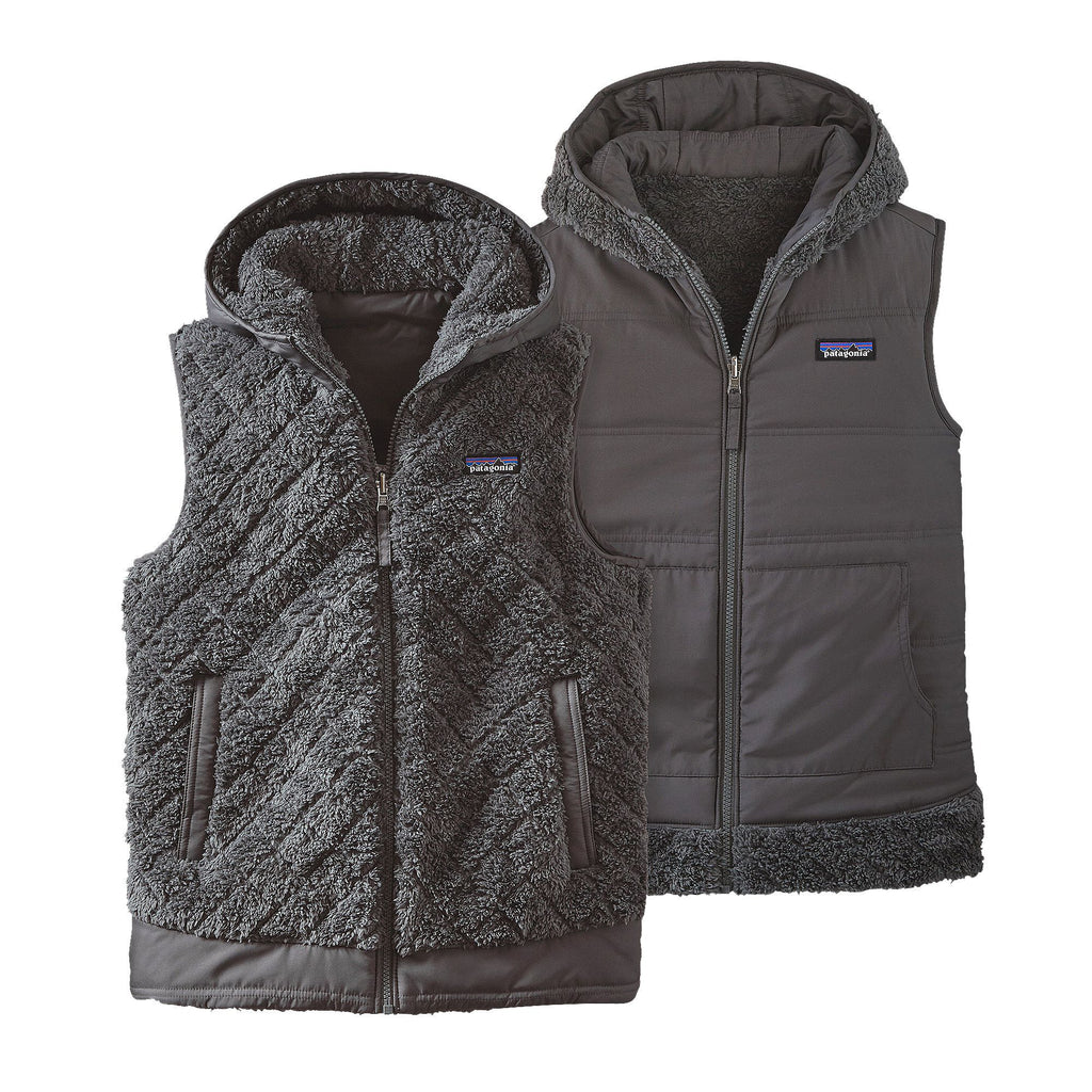 Patagonia Womens Los Gatos Hooded Vest-Forge Grey - Bennett's Clothing