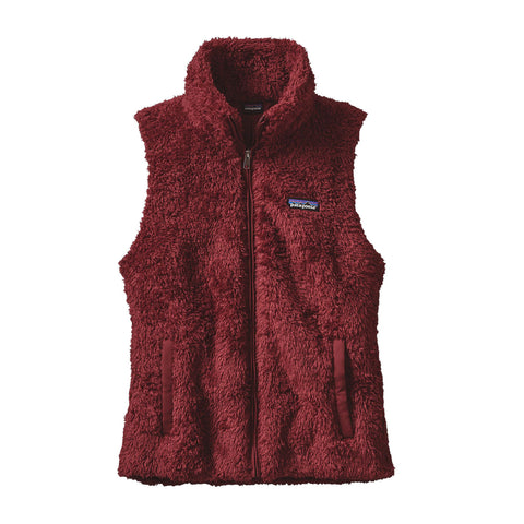 Patagonia Womens Los Gatos Vest-Drumfire Red - Bennett's Clothing