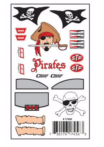 Pinewood Derby Pirates Car Decal-Template - Bennett's Clothing - 1