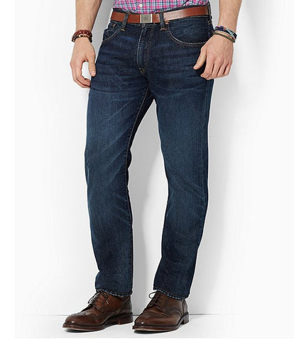 Polo Ralph Lauren Hampton Relaxed Straight Fit Jean is a customer fave and the Morris wash has spot on styling. Shop Bennett's Clothing for the brands you want with same day shipping for over 44 years.