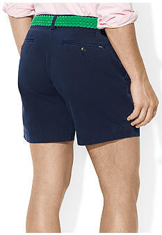 "Polo Men's Classic Fit 6"" Flat-Front Short-Navy - Bennett's Clothing - 2"