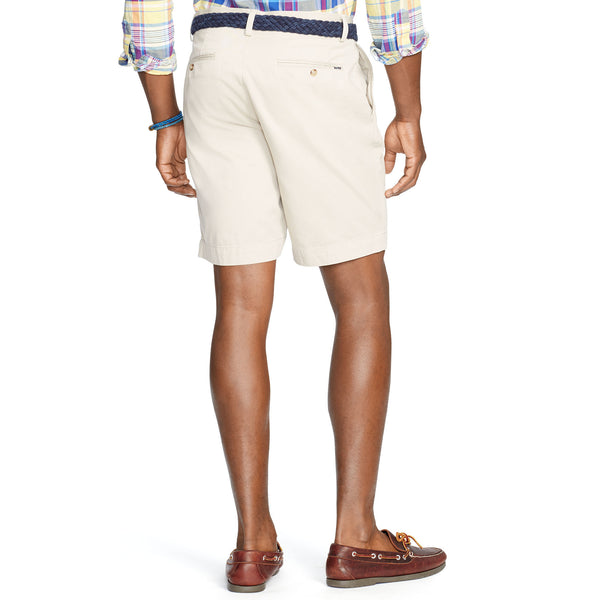 "Polo Men's Classic Fit 9"" Flat-Front Short-Stone - Bennett's Clothing - 2"