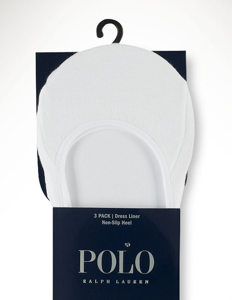 Ralph Lauren Polo Dress Liners-White