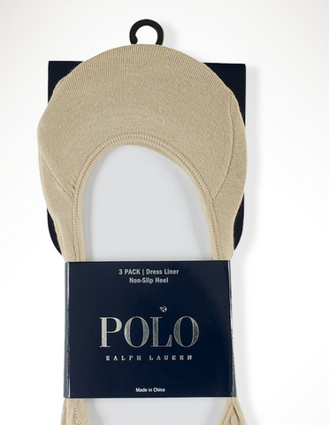 Ralph Lauren Polo Dress Liners-Khaki