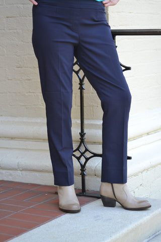 Renuar Cigarette Leg Pants are a customer favorite that look and feel like magic! Shop Bennett's Clothing for the best price and customer service with the fastest shipping to your front door