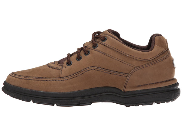 Rockport World Tour Classic Walking Shoe-Chocolate Nubuck - Bennett's Clothing - 2