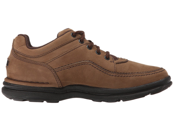 Rockport World Tour Classic Walking Shoe-Chocolate Nubuck - Bennett's Clothing - 4