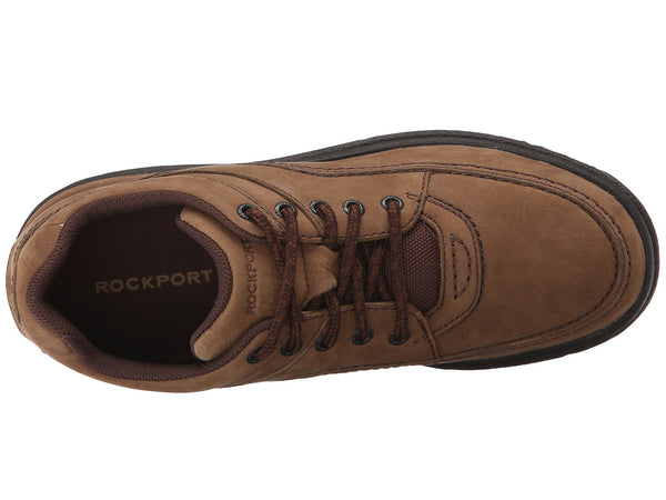 Rockport World Tour Classic Walking Shoe-Chocolate Nubuck - Bennett's Clothing - 6