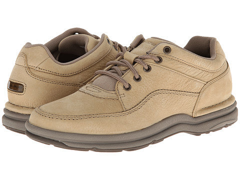 Rockport World Tour Classic Walking Shoe-Sand Nubuck - Bennett's Clothing - 1