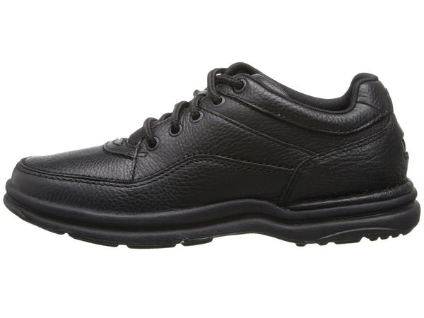 Rockport World Tour Classic Walking Shoe-Black Tumbled - Bennett's Clothing - 2